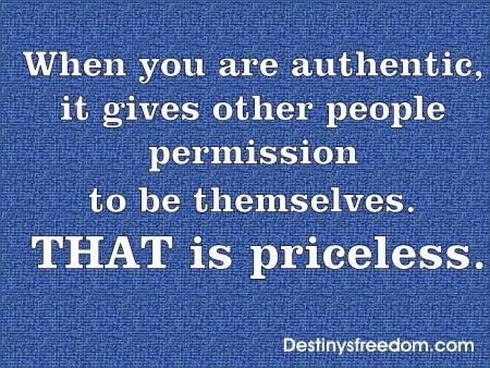 Q54 Authentic is Priceless